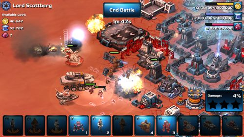 Capturas de pantalla del juego Star wars: Commander. Worlds in conflict para iPhone, iPad o iPod.