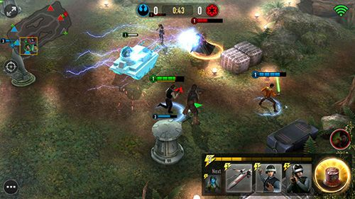 Скачати Star wars: Force arena на iPhone безкоштовно.