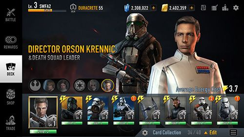 Descarga gratuita de Star wars: Force arena para iPhone, iPad y iPod.
