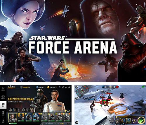除了 iPhone、iPad 或 iPod 游戏,您还可以免费下载Star wars: Force arena, 。