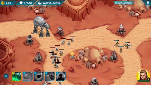 Скачать Star wars: Galactic defense на iPhone бесплатно