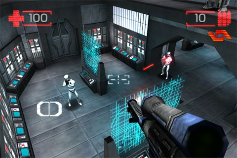 Écrans du jeu Star wars: Imperial academy pour iPhone, iPad ou iPod.