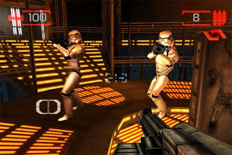 Capturas de pantalla del juego Star wars: Imperial academy para iPhone, iPad o iPod.