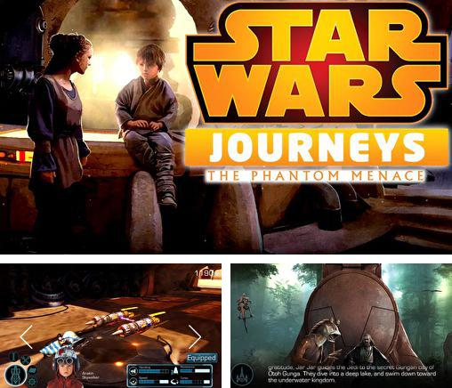 Zusätzlich zum Spiel Letztes Königreich: Krieg Z für iPhone, iPad oder iPod können Sie auch kostenlos Star wars journeys: The phantom menace, Star Wars Journeys: Die dunkle Bedrohung herunterladen.