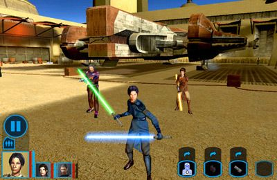 Скачать игру Star Wars: Knights of the Old Republic для iPad.