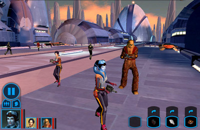 Screenshots vom Spiel Star Wars: Knights of the Old Republic für iPhone, iPad oder iPod.