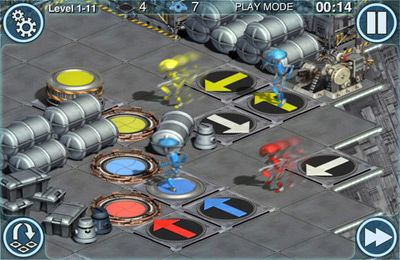 Screenshots of the Star Wars: Pit Droids game for iPhone, iPad or iPod.
