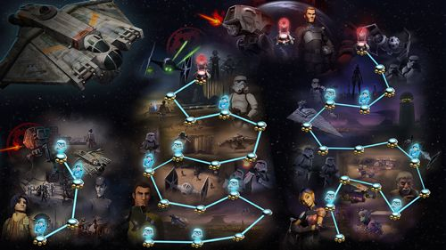 Kostenloses iPhone-Game Star Wars Rebellen: Recon Missions herunterladen.