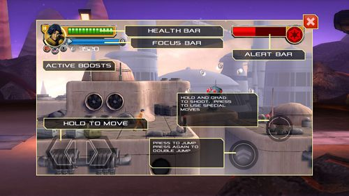 iPhone、iPad 或 iPod 版Star wars rebels: Recon missions游戏截图。