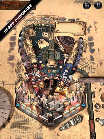 Download Star wars. The force awakens: Pinball 4 iPhone free game.