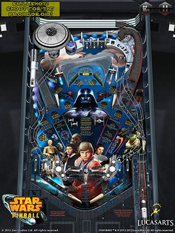 Скачати гру Star wars. The force awakens: Pinball 4 для iPad.
