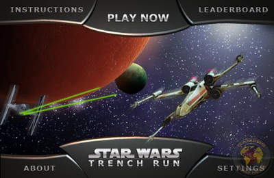 Download Star Wars: Trench Run iPhone free game.