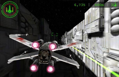 Free Star Wars: Trench Run download for iPhone, iPad and iPod.
