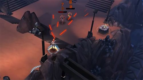 Capturas de pantalla del juego Star wars: Uprising para iPhone, iPad o iPod.