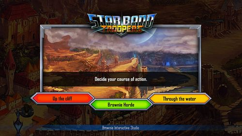 Download Starband troopers iPhone free game.