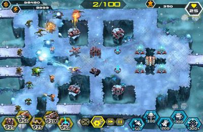 Screenshots of the StarBunker:Guardians game for iPhone, iPad or iPod.