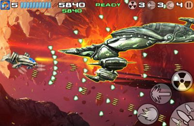 Capturas de pantalla del juego Starfighter Overkill para iPhone, iPad o iPod.