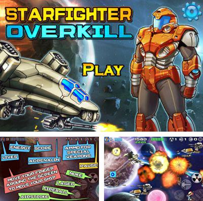 In addition to the game Deep dungeons of doom for iPhone, iPad or iPod, you can also download Starfighter Overkill for free.