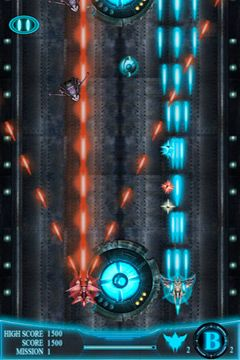 Screenshots of the StarFire game for iPhone, iPad or iPod.