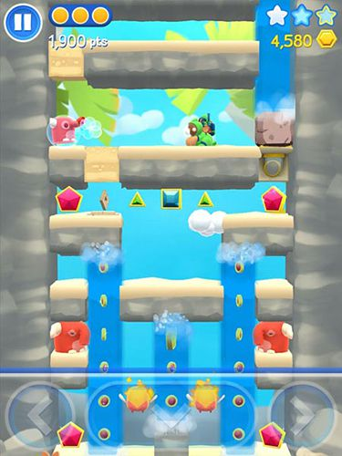 Capturas de pantalla del juego Starlit adventures para iPhone, iPad o iPod.
