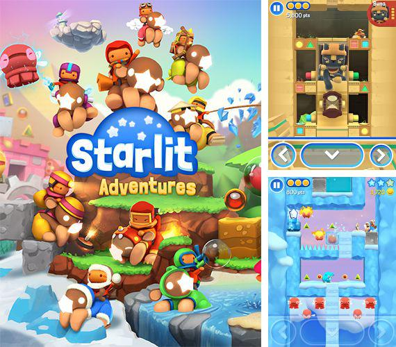In addition to the game Fighter Jet WW3D for iPhone, iPad or iPod, you can also download Starlit adventures for free.