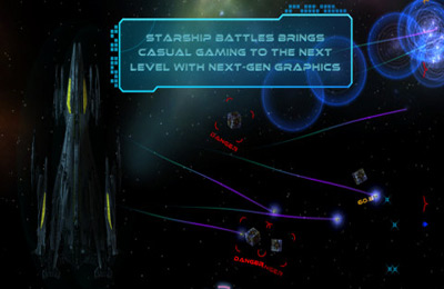 Download Starship Battles iPhone free game.