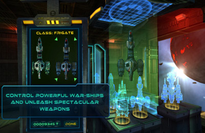 Screenshots of the Starship Battles game for iPhone, iPad or iPod.