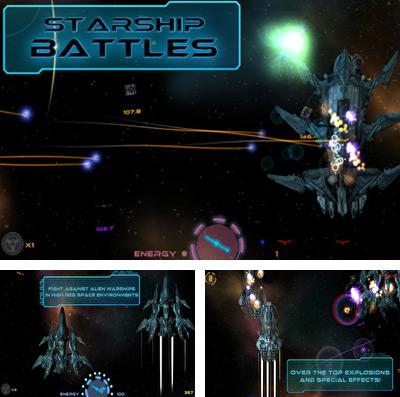In addition to the game Cartoon Network superstar soccer for iPhone, iPad or iPod, you can also download Starship Battles for free.