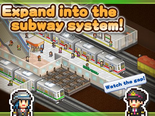 Screenshots of the Station manager game for iPhone, iPad or iPod.