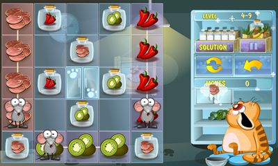 Screenshots vom Spiel Steal the Meal: Free Unblock Puzzle für iPhone, iPad oder iPod.