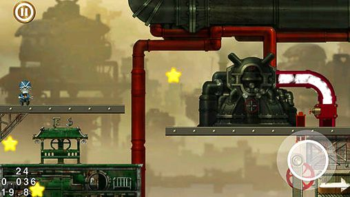 Screenshots vom Spiel Steam city für iPhone, iPad oder iPod.