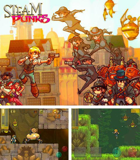 In addition to the game Spacecom for iPhone, iPad or iPod, you can also download Steam Punks for free.