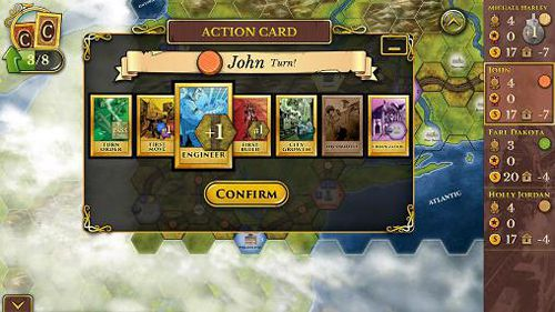 Screenshots of the Steam: Rails to riches game for iPhone, iPad or iPod.