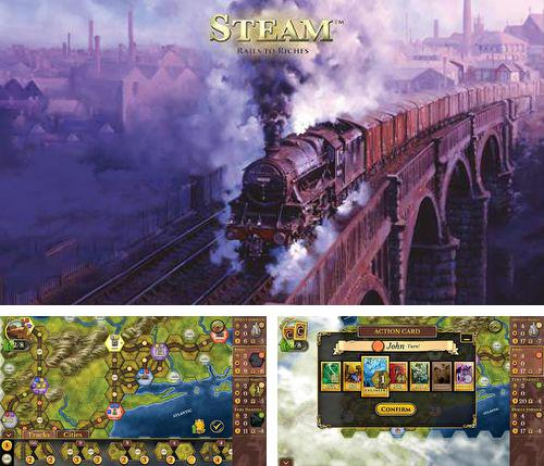 Download Steam: Rails to riches iPhone free game.