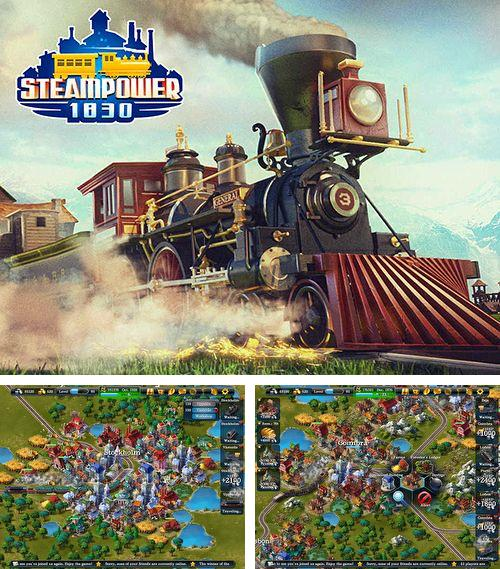 In addition to the game Smash hit for iPhone, iPad or iPod, you can also download Steampower 1830: Railroad tycoon for free.