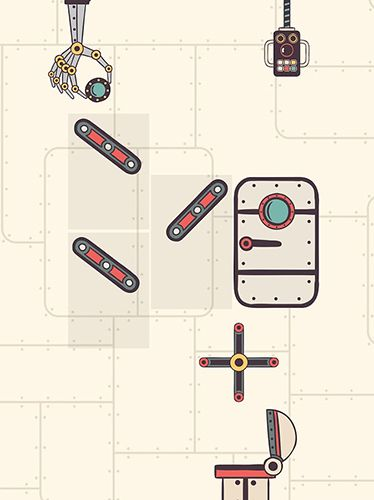 iPhone、iPad または iPod 用Steampunk puzzle: Brain challenge physics gameゲームのスクリーンショット。