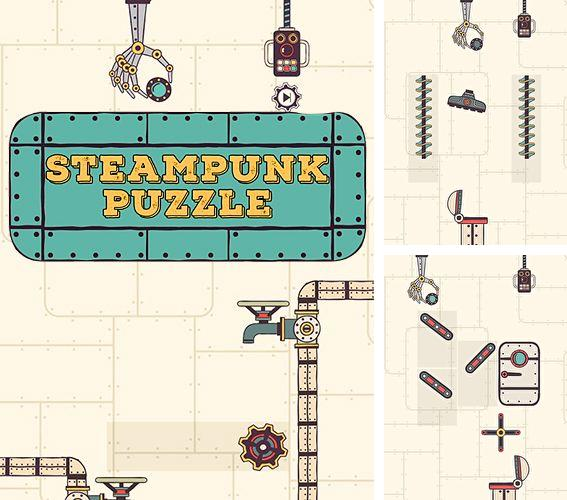 除了 iPhone、iPad 或 iPod 卡牌塔防游戏,您还可以免费下载Steampunk puzzle: Brain challenge physics game, 。