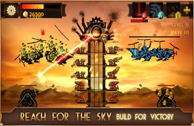 Free Steampunk Tower download for iPhone, iPad and iPod.