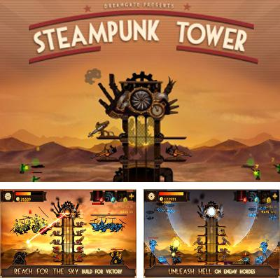 In addition to the game Combo queen for iPhone, iPad or iPod, you can also download Steampunk Tower for free.