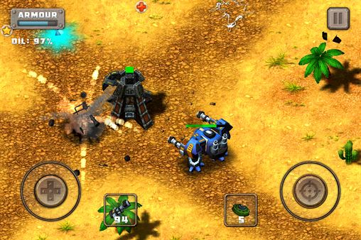 Free Steel mayhem: Battle commander download for iPhone, iPad and iPod.