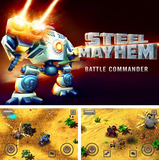 In addition to the game Infestor for iPhone, iPad or iPod, you can also download Steel mayhem: Battle commander for free.