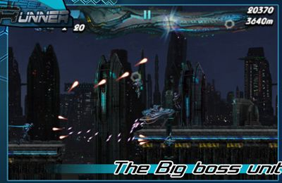 Screenshots of the Steel Runner game for iPhone, iPad or iPod.