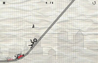 Screenshots of the Stick Stunt Biker game for iPhone, iPad or iPod.