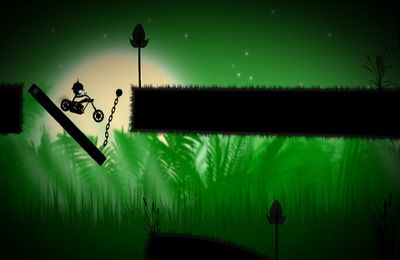Screenshots of the Stick Stunt Biker 2 game for iPhone, iPad or iPod.
