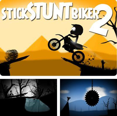 In addition to the game Skate it for iPhone, iPad or iPod, you can also download Stick Stunt Biker 2 for free.