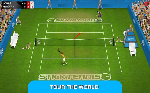 Free Stick tennis: Tour download for iPhone, iPad and iPod.