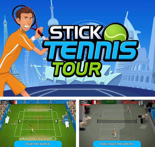 Download Stick tennis: Tour iPhone free game.