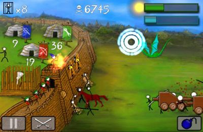 Descarga gratuita de Stick wars para iPhone, iPad y iPod.