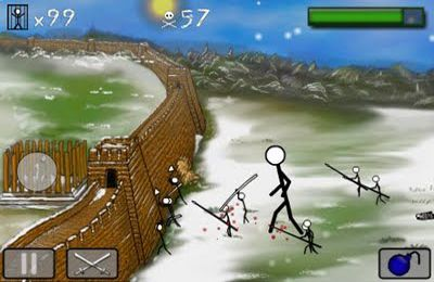 Capturas de pantalla del juego Stick wars para iPhone, iPad o iPod.