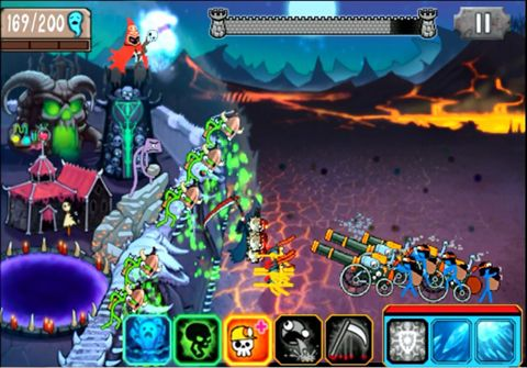 Capturas de pantalla del juego Stick wars 3: Premium para iPhone, iPad o iPod.